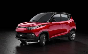 Mahindra Adds Exciting Two Tone Variant to KUV100 Range