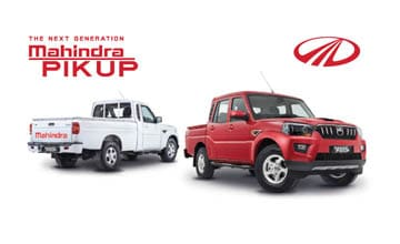 Mahindra Launches Next Generation Pik Up