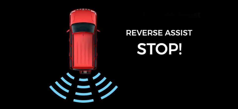 Intellipark reverse assist