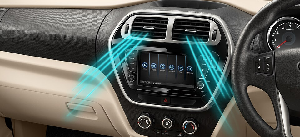 Powerful AC with Eco Mode