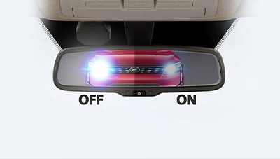 CLASS LEADING AUTO DIMMING MIRROR