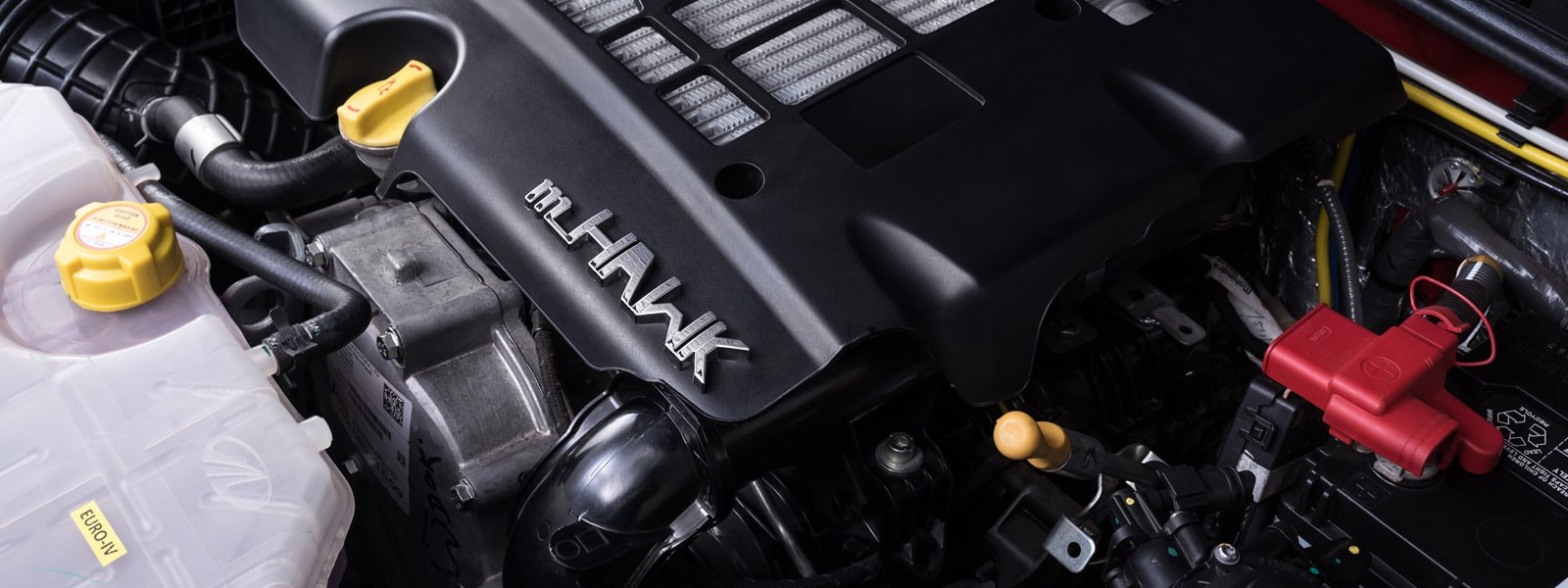2.2L, 4-cylinder mHawk turbo-diesel engine