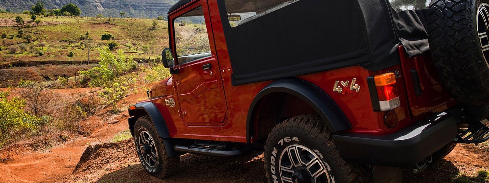 Borg Warner 4WD system with 2.48 crawl ratio