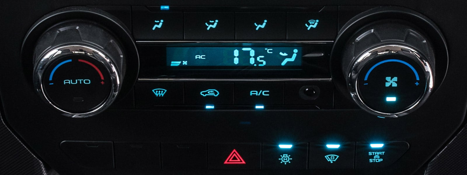 Automatic digital climate controls