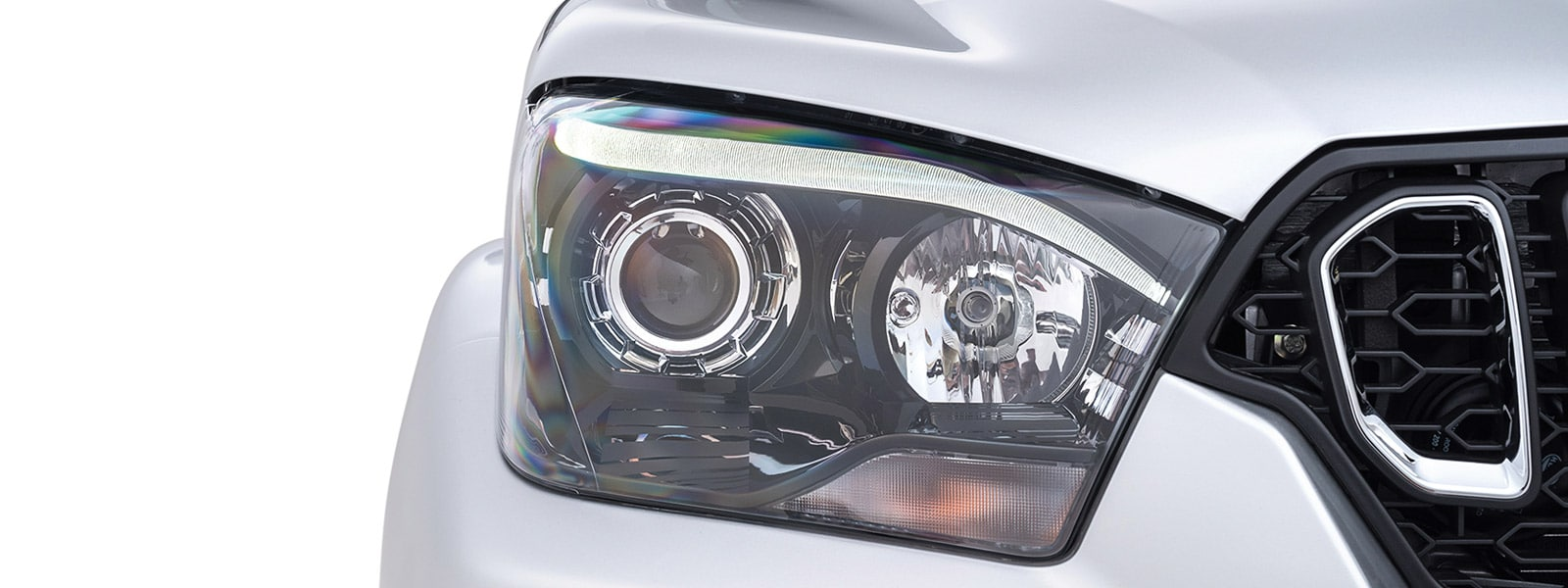 Distinctive daytime running lights