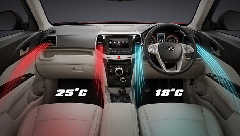 DUAL ZONE FULLY AUTOMATIC TEMPERATURE CO