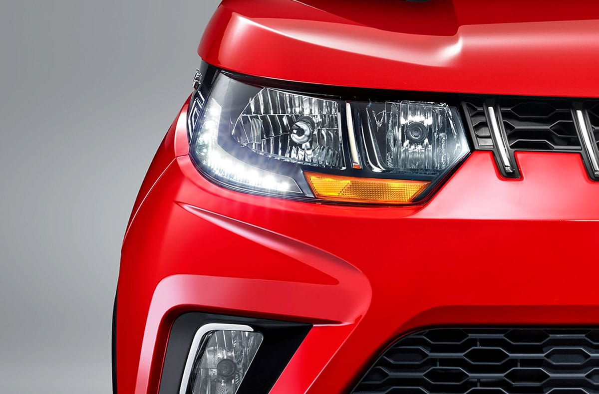 New dual chamber sunglass-inspired headlamps with LED DRLs (daytime running lights)