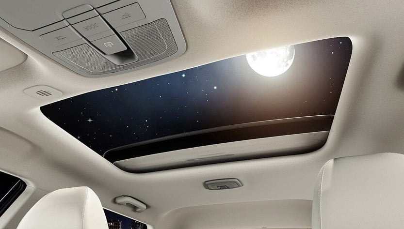 CLASS LEADING ELECTRIC SUNROOF