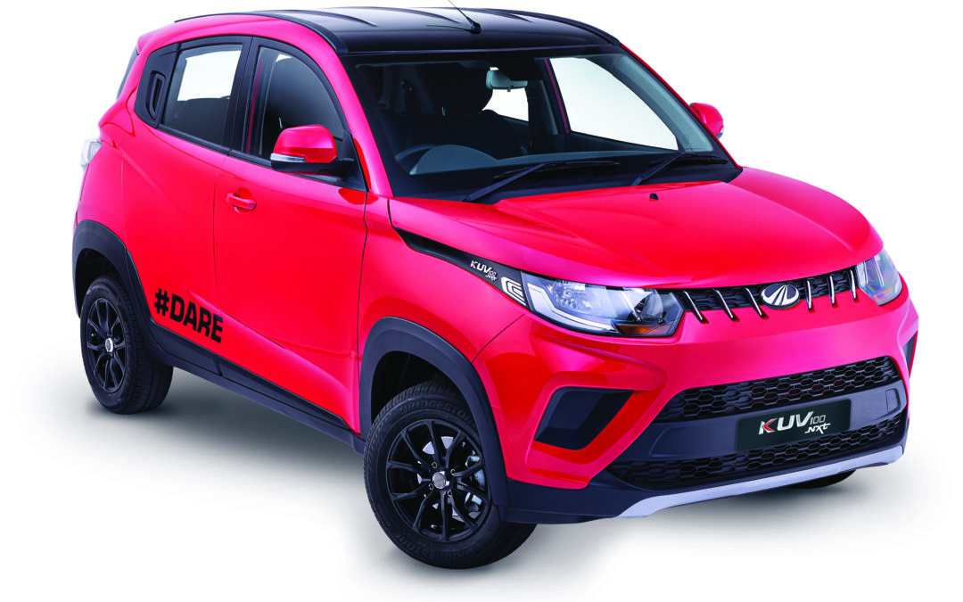 The KUV100 #DARE range is growing!