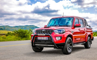 South Africa first country globally to launch automatic on the Mahindra Pik Up